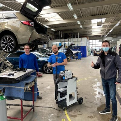 ASN Autoschade Den Bosch investeert in nieuwe Aluminium spotter